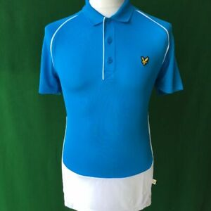 "Mens Lyle & Scott Short Sleeved Golf Polo Shirt- Small 38-40"""