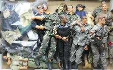 Huge Vintage GI Joe Soldier Lot Hasbro + Clothing Camo SWAT Rifles+Field Gear++