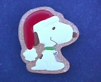 Hallmark MAGNET Christmas Vintage SNOOPY Sugar COOKIE Holiday Fridge