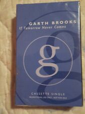SEALED Garth Brooks If Tomorrow Never Comes Cassette Single Tape Target Promo