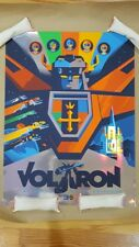 Voltron: Defender of the Universe Tom Whalen Screen Print/Poster - Holofoil