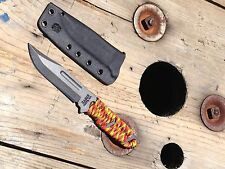 KaBar 1117 USMC kydex sheath blk azwelke taco style
