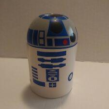 "New adorable Disney's Star Wars R2D2 Ceramic Toothpick Holder 3 3/4"" tall"