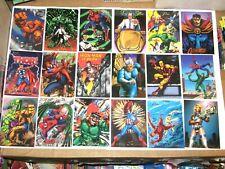 1994 FLAIR MARVEL ANNUAL 150 BASE CARD SET SPIDER-MAN X-MEN AVENGERS! VENOM!