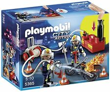 PLAYMOBIL 5365 City Action Fire Brigade Firefighters Water Pump Ages 5+ Toy Gift