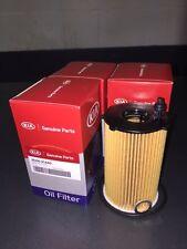 OEM FACTORY 2011-2015 Kia Sorento V6 OIL FILTERS 4 Pack Kit Filter Set 3.5L 3.3L