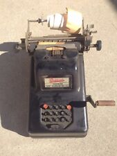 vintage Sundstrand Adding Machine
