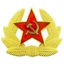 Metal Lapel Pin Foreign Army Pin Russian Badge and Cap Prong Attachment New