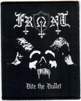 Front Bite The Bullet Patch Urn Evil Angel Neutron Hammer Black Death Thrash