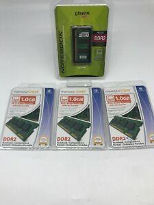 4GB (4x1GB) PC2-5300 DDR2-667MHz Laptop Memory SO-DIMM