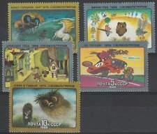CCCP / USSR postfris 1988 MNH 5798-5802 - Tekenfilms