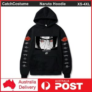 Uchiha Itachi Hoodie Naruto Anime Men Women 3D Printed Sweatshirt Cosplay Jacket