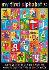 Premier Alphabet Poster-Children 's Alphabet Learning Poster-A3 (420 mm x 297 mm)