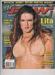WWE Raw Magazine Lita Ric Flair Mick Foley July 2004 112219nonr