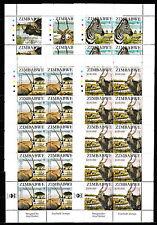 Zimbabwe 2007 SAPOA National Animals in Sheets of 10, MNH