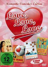 DVD NEU/OVP - Love, Love, Love - Romantic Comedies Edition - 4 Filme