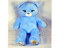 Build a Bear Cinderella Limited Edition Blue Teddy Bear BAB w/ Sound Box