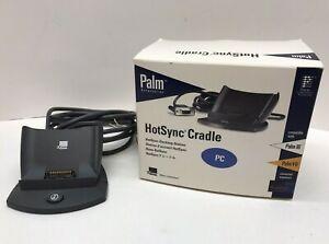 3COM Palm Pilot III & VII PDA Serial HotSync Cradle Docking Station Base Serial