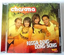 CHERONA - RIGGA DING DONG SONG + VIDEO + MAGNET PUZZLE - CD Neuf (A1)