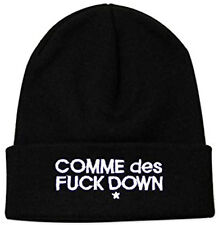 Comme Des Fuckdown BEANIE Cap GRIME HIPHOP ASAP RAP ROCKY Embroidered Cap