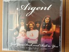 ARGENT.  Cd. Greatest hits.  God gave rock and roll to you