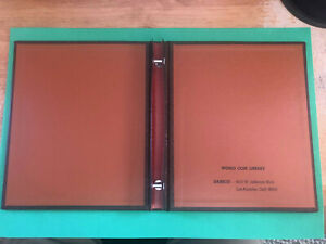 "7/8"" DANSCO ALBUM with SLIPCASE - NICE Condition (RARE)"