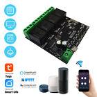 4CH Wifi Smart Switch Module Tuya Smart Life APP Wireless Control f Alexa Google
