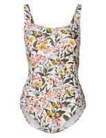 Ex Marks and Spencer Secret Slimming™ Non-Wired Plunge Swimsuit Size 14 SS86