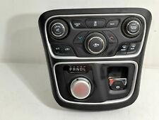 2015-2016 Chrysler 200 Bezel w/ A/C Climate Control Switch Gear Selector Oem