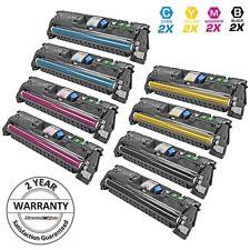 8Pk Black Color Toner Cartridge Set for HP LaserJet Printer 2550 2820 2830 2840
