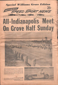 Speed Sport News 7/21/1954-Long running auto race magazine-Race photos, info,...