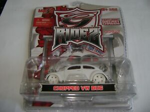 "Maisto 2006 New York Toy Fair ""G Ridz"" Chopped White VW Bus 1 of 1200 made only"