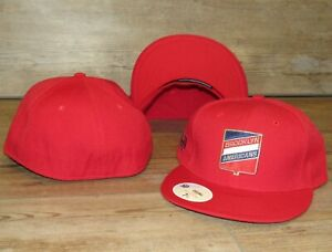 Brooklyn Americans Vintage Crest Stall & Dean Fitted Hat Cap Men's Size 7 5/8