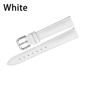 Men/Women's Genuine Leather Watch Strap Band Colour Collection New