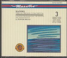 Händel - 16 Organ Concertos (3CD-Box)