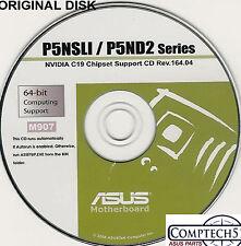 ASUS GENUINE VINTAGE ORIGINAL DISK FOR P5ND2-SLI P5ND2-SLI DELX Disk M907