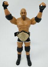 WWE BILL GOLDBERG Ruthless Aggression Series 6 Figure w/ Big Gold Title Belt BT