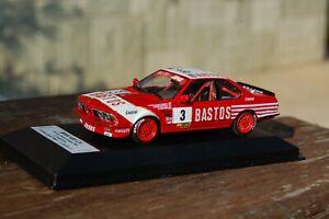 1/43 TRANSKIT MINICHAMPS BMW 635, 24 H SPA FRANCORCHAMPS 1984, THIBAUT HANDMADE