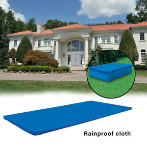 Rectangular Pool Cover Protector Intex 300x200cm Above Ground Blue Protection SS