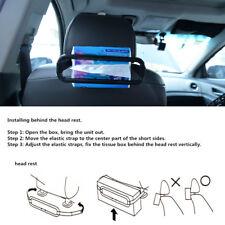 Universal Sun Visor Tissue Paper Box Holder Seat Back Accessories Clip Bracket