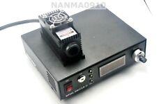 100mW 405nm Violet/Blue Laser Dot Module + TTL/Analog + TEC + PS-II Power Supply