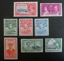 Basutoland Lesotho Stamp Selection - Mint Previously Hinged - MM - KGV/KGVI/QEII