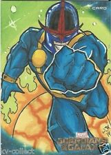 NOVA Star Lord Sketch card Guardians of the Galaxy Movie Kunkle