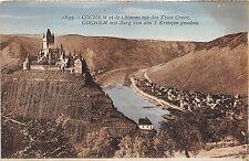 BR37554 Cochem et le Chateau vus des trois Croix germany