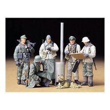 Tamiya 35212 alemán Soldiers Field Briefing 1:35 Modelo Militar Kit