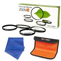 58mm Lens Filter Macro Close Up Filter Pouch For Canon EOS 1100D 500D 550D 600D