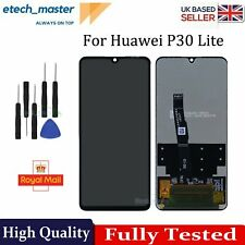For Huawei P30 Lite LCD Black Retina Touch Screen Digitizer Replacement Assembly