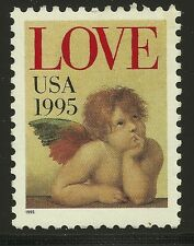 US Scott #2948, Single 1995 LOVE 32c VF MNH