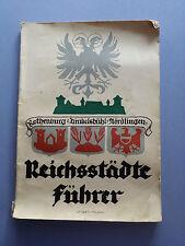 Reichsstädte Führer Rothenburg o. T. Dinkelsbühl Nördlingen Gebrüder Holstein