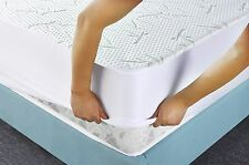 Queen Size Mattress Cover Deep Pocket Fit Soft Bedding Allergy Protector Pad New